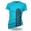 """Koszulka dla rowerzystki """"BLUE MINION"""" Damska"""