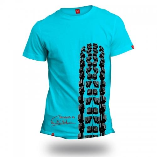 """Koszulka dla rowerzysty """"BLUE MINION"""" Męska"""