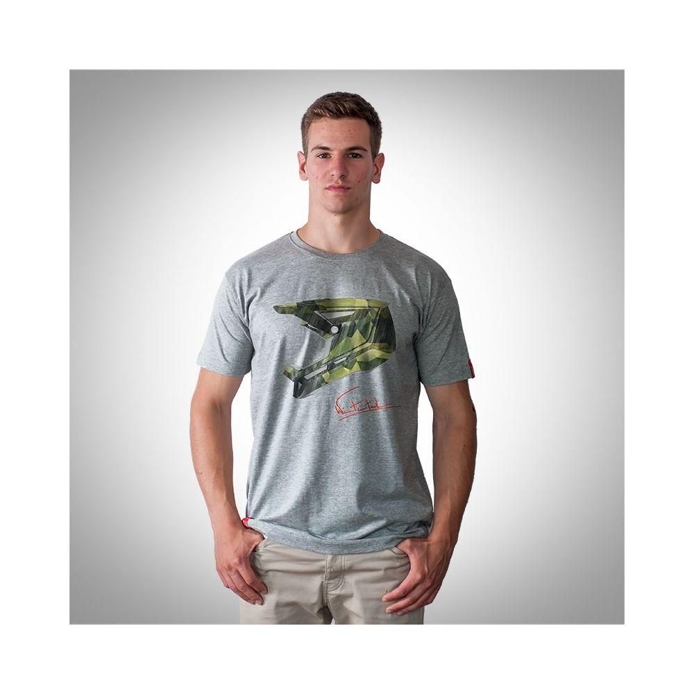 """Bike T-shirt """"CAMO GREY"""" Man"""