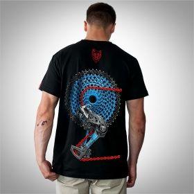 """Koszulka dla rowerzysty """"CHAIN"""" CUSTOM Męska"""